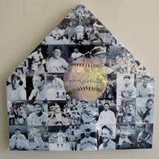 LOU GEHRIG PHOTO COLLAGE